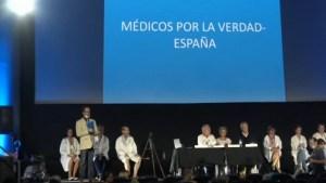 Rueda de Prensa, Médicos por la Verdad (España)