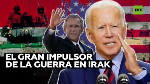 Joe Biden impulsó la invasión de Irak por parte de EE.UU.