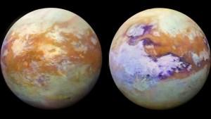 Hallan en la luna más grande de Saturno una rara molécula de hidrocarburo