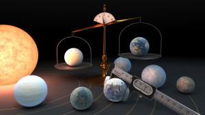 Una estrella a 40 años luz alberga el grupo más grande de planetas del tamaño de la Tierra jamás visto