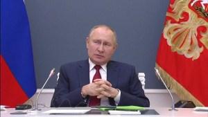 """Putin criticó el """"Gran Reseteo"""" que propone Davos: """"Muchas personas corren el riesgo de quedarse desempleadas"""""""