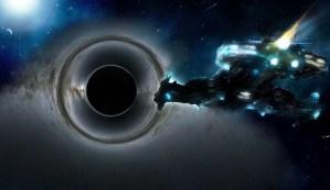 Un misterioso objeto espacial oscurece un enorme agujero negro, y nadie sabe que es