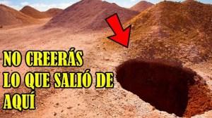 Hombre excavó en medio del desierto para encontrar agua y lo que pasó después sorprendió al mundo