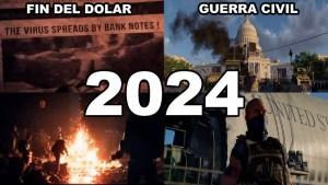 La siniestra predicción del videojuego The Division que anuncia el fin del Dólar y de EE.UU. en 2024