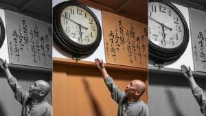 El reloj de un templo detenido tras el tsunami de Japón de 2011 comienza a moverse después de un sismo en 2021