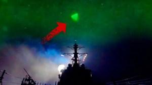 El Pentágono lo confirma: el video del ovni que grabó la Marina es real