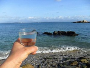 La sanación con el agua de mar
