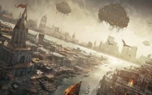 """La Atlántida y """"las naves que hicieron volar a los humanos en la antigüedad"""""""