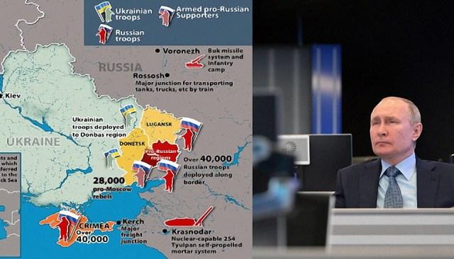 Rusia advierte a Estados Unidos que mantenga sus buques de guerra alejados de Crimea 'por su propio bien'