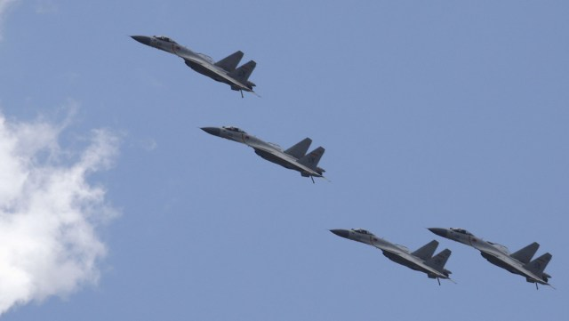28 aviones militares chinos entran en la zona de identificación de defensa aérea de Taiwán