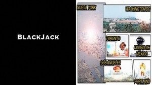 La siniestra serie BlackJack