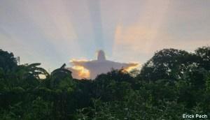 Aparición de una nube con forma de Cristo en México causa expectación en las redes sociales