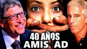 La Perturbadora amistad de Bill Gates y Jeffrey Epstein