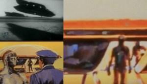 El misterio de un video perdido de una nave alienígena que aterrizó en una base aérea de EE.UU. con tres tripulantes