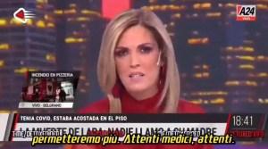 """La presentadora argentina Viviana Canosa: """"Políticos, médicos cómplices y medios de comunicación pagarán por las mentiras sobre el Covid una vez que termine la pandemia"""""""
