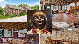 Ponen a la venta la verdadera casa de la película The Conjuring, con fantasmas incluidos