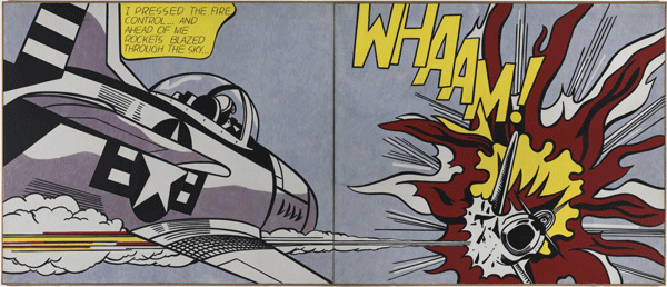Whaam!, de Roy Liechtenstein, 1963.
