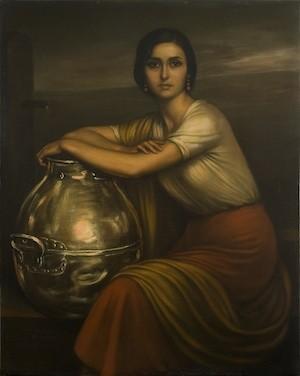 Fuensanta, del pintor Juliio Romero de Torres