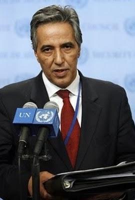 Ahmed Bujari, representante del Frente Polisario ante la ONU