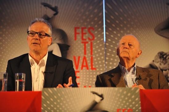 Gilles Jacob, Presidente, y Thierry Fremaux, director artístico del Festival de Cannes