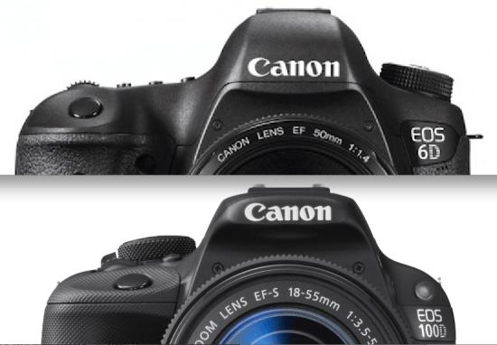 Canon-EOS-6D-y-100D