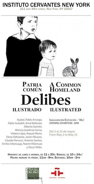 cartel-patria-comun-Delibes-NY
