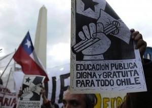 Chile educación gratuita
