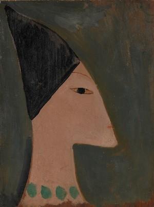 Laurencin-Apollinaire-perfil-egipcio-Adagp