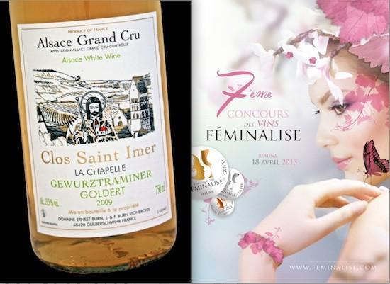 Vinos de la Alsacia. Clos Saint-Immer y Feminalise 2013