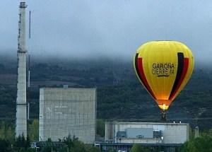 Greenpeace pide el cierre de la central nuclear de Garoña