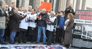 3 de Mayo: Concentración de periodistas en Turquía