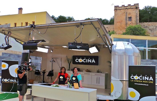 """""""Cocinan los alcaldes"""". Canal cocina en Dénia. 28 de mayo de 2013. (C) Manuel López"""