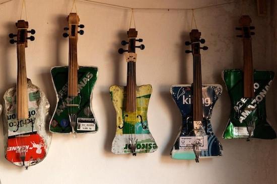 Caterua-Paraguay-Instrumentos-reciclados