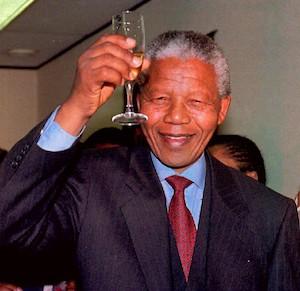 Al Madiba le gusta el célebre vino de postre Vin de Constance
