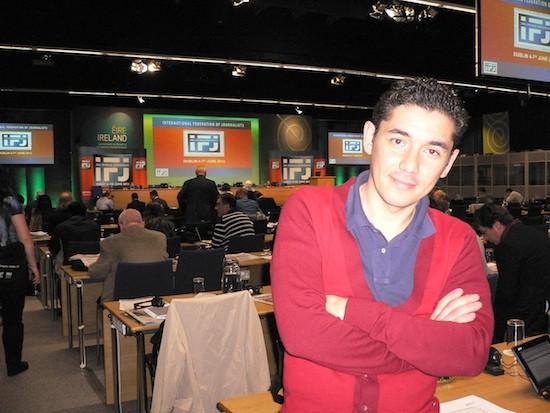 Mehmet Koksal en la asamblea de la FIP