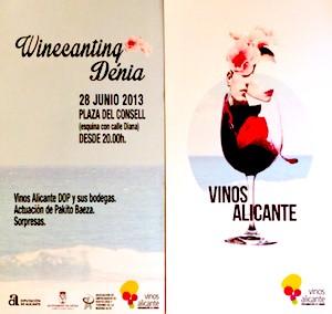 Dénia celebra la fiesta Winecanting para promocionar los vinos de Alicante