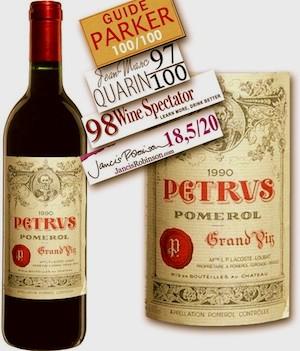 Pétrus 1990. La vuelta al mundo en 80 vinos.