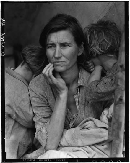 02 MigrantMother CDorotheaLange1936 550 'Madre migrante' o el respeto como paradigma (y 2)