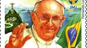 El papa Francisco, en Río