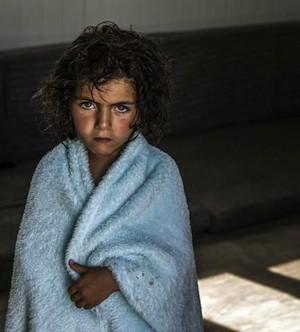 ACNUR/ O.Laban-Mattei: Esta niña refugiada en el campo de Za'atari, en Jordania