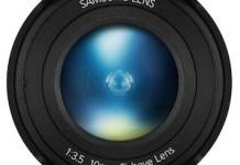 Samsung ojo de pez 10 mm f/3,5