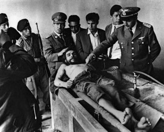 Ernesto Che Guevara muerto, 9 de octubre de 1967