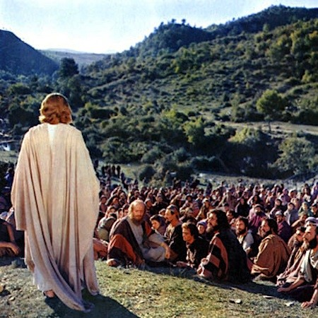Claude Heater en el papel de Jesús en 'Ben Hur', de William Wyler
