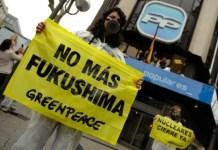 Greenpeace contra la energía nuclear en España