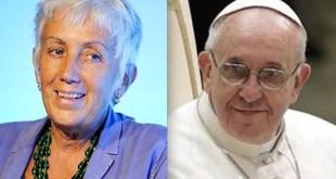Lucetta Scaraffia y el papa Francisco