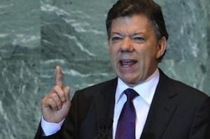 Santos-Colombia-ONU