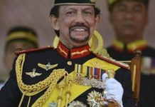 Hassanal Bolkiah, sultán de Brunei