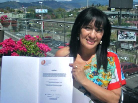 Itsmania Pineda, defensora de los derechos humanos, Honduras