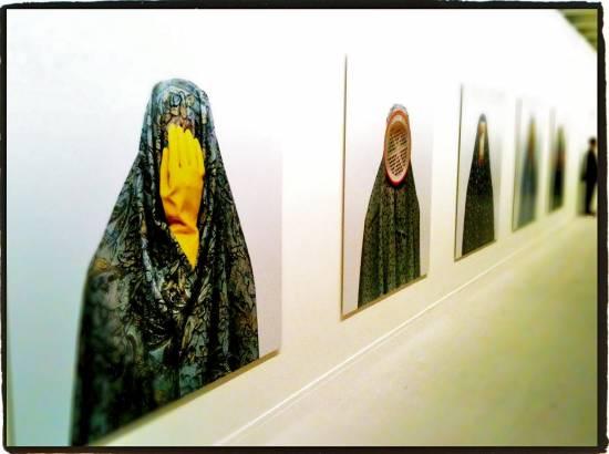 Everyday' (Iran 2001) en su exposición en Nueva York
