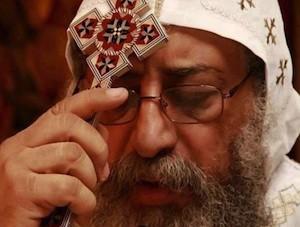 Tawadros II, papa de la Iglesia Copta en Egipto
